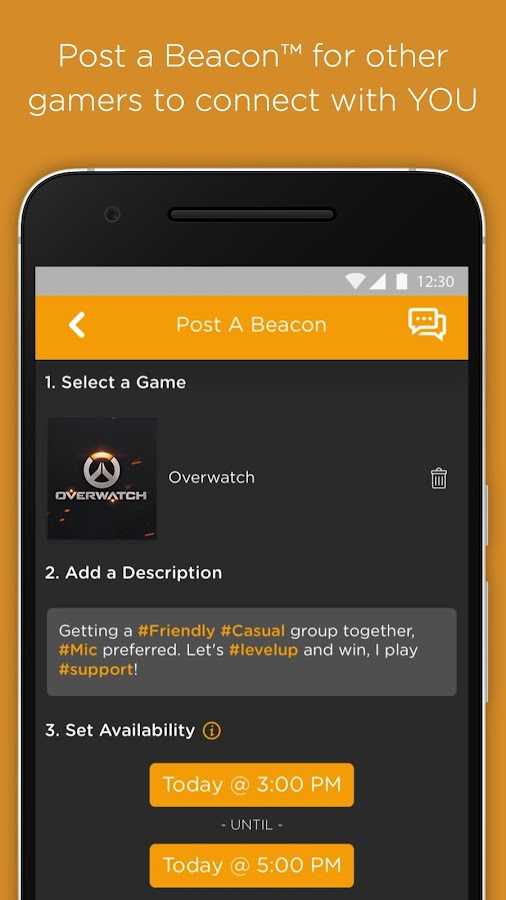 GamerLink Beta: Universal LFG - Android Apps on Google Play