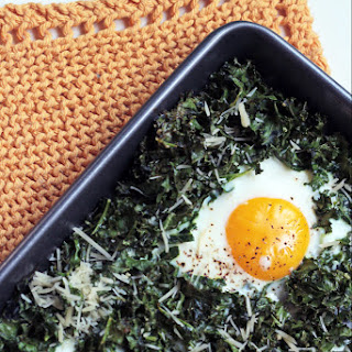 Nutrient Rich,  ready In 15 Minutes And  under 300 Calories This Sheet Pan Kale And Egg Bake Is Just As Good For Dinner As It Is For Breakfast..