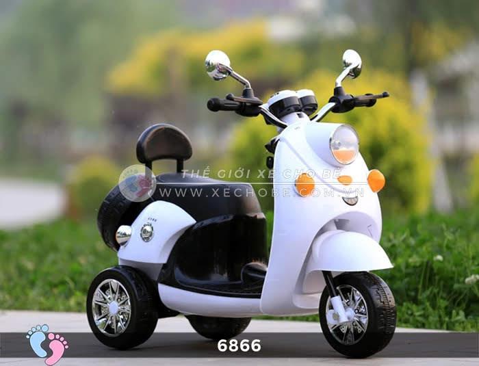 Xe máy điện cho bé Mio 6866 14