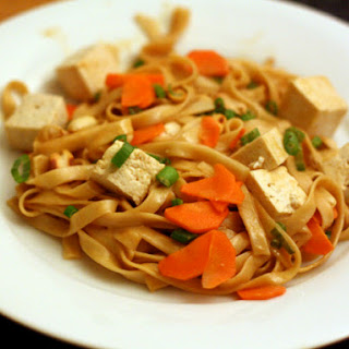 Spicy Noodles with Tofu (Dou Hua Mian).
