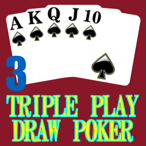 Triple 3 Play Draw Poker