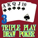 Triple 3 Play Draw Poker icon