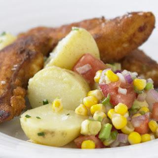 Spicy Chicken with Corn Salsa