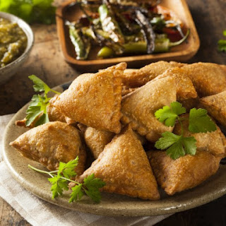 Great Beef Samosas.
