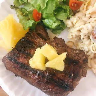 Pineapple Soy Steaks.
