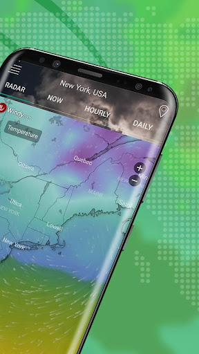 Screenshot for Weather Radar Live & Alerts in United States Play Store