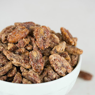 Cinnamon-Sugar Candied Pecans