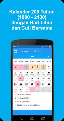 Kalender Indonesia dan Jadwal Sholat Apk 1