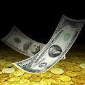 Falling Money 3D Live Wallpaper icon