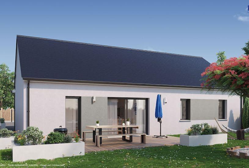 Vente Terrain + Maison - Terrain : 699m² - Maison : 89m² à Coulaines (72190)
