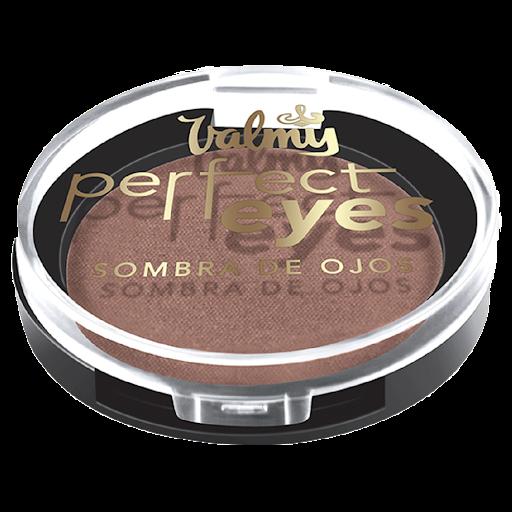 Sombra Valmy Perfect Eyes Bengala Polvo de textura fina con alta pigmentación. Te ofrece mayor fijación, textura fina con  tecnología microtexturizada y colores en tendencia.