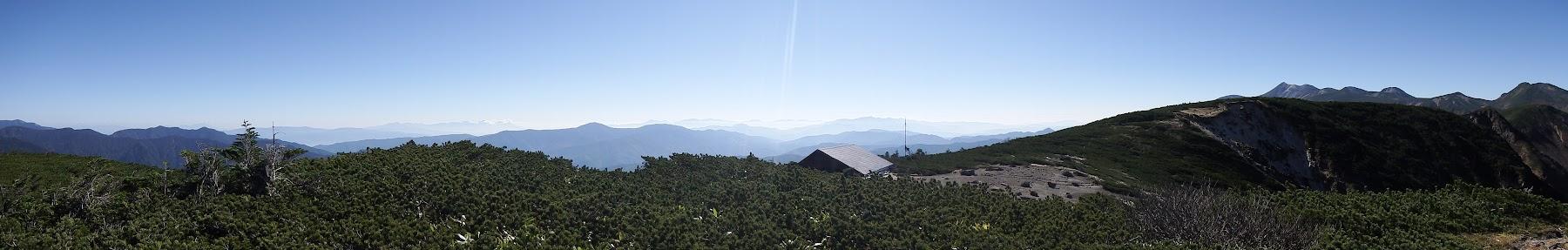 東方面のパノラマ