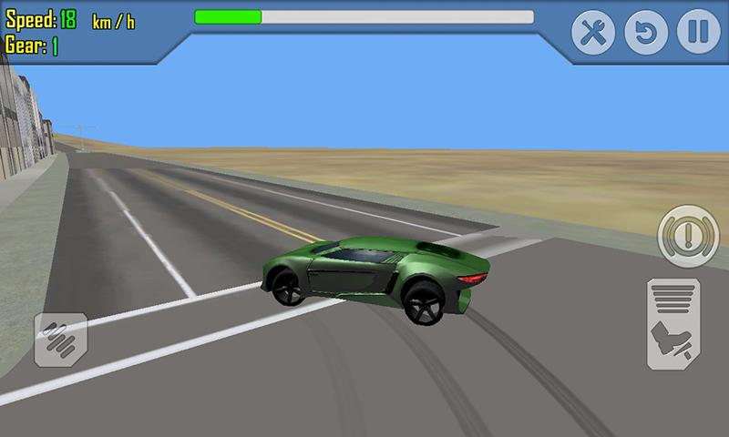 android Car Racing Simulator Driving Screenshot 19