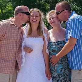 by Myra Brizendine Wilson - Wedding Groups ( holden beach, ocean, nc, beach, wedding, family, wedding on holden beach,  )