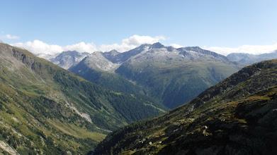 Photo: A Nufenen-hágóút északi oldala