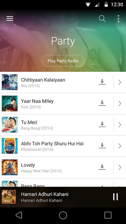 Saavn Music & Radio- screenshot