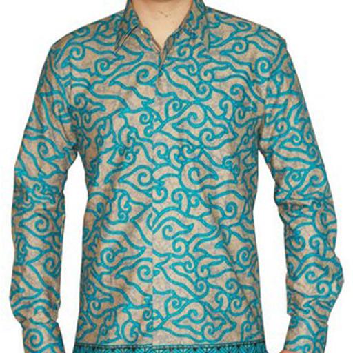 Desain Batik Pria Modern