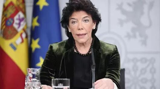 Isabel Celaá, en una imagen de archivo.