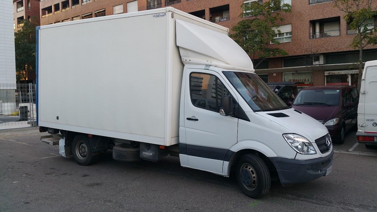 Alquiler de camiones en Zaragoza