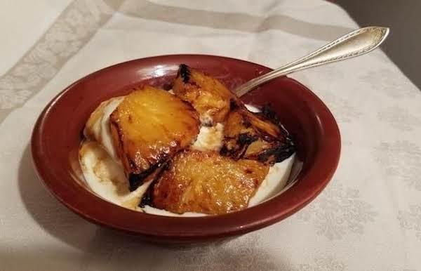 Vanilla-poached Pineapple Recipe