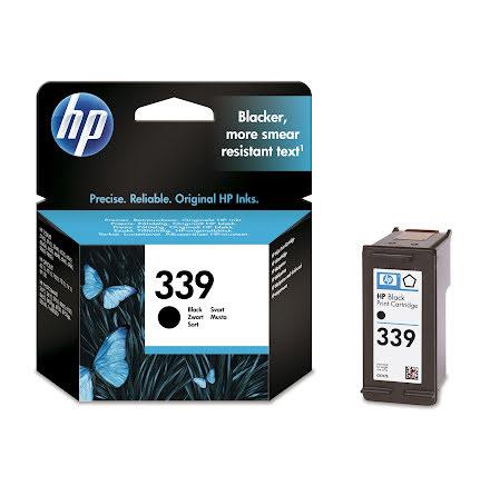 Bläckpatron HP No339     svart