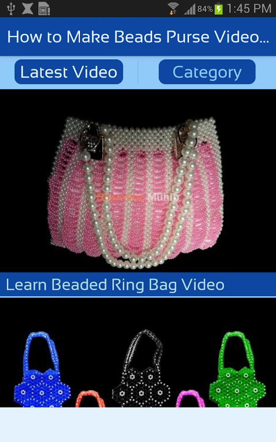 How to Make Beads Purse Video - Beaded Bags Making - Izinhlelo ze ...
