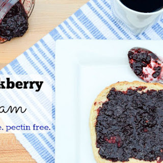 Blackberry Jam Recipe {Without Sugar or Pectin}.