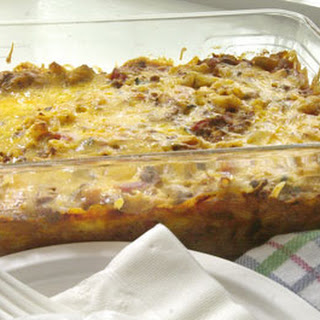 Ground Beef Macaroni Casserole Cream Of Mushroom Soup Recipes.
