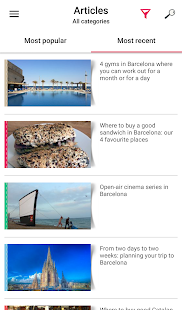 Barcelona Top Travel Tips- screenshot thumbnail
