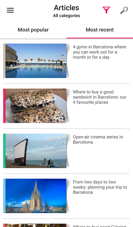 Barcelona Top Travel Tips- screenshot
