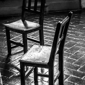 Chairs by Doug Faraday-Reeves - Black & White Objects & Still Life ( furniture, chairs, antique )