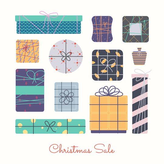 Yearly Christmas Sale - Christmas Template
