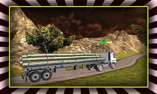 Transporter Truck Driver Sim