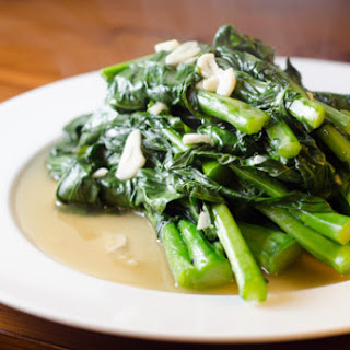 Garlic Stir-Fried Gai Lan