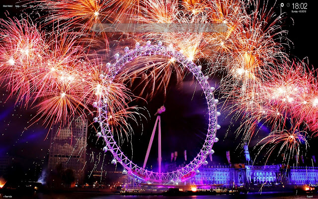 New Year Cities HD Wallpapers