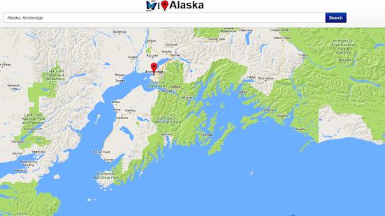 Alaska map android apps on google play alaska map screenshot thumbnail alaska map screenshot thumbnail gumiabroncs Images