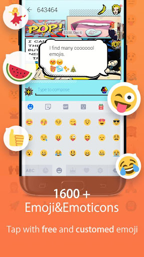 Hi Keyboard - Emoji Sticker, GIF, Animated Theme 1.22 screenshots 5
