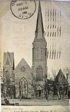 Photo: First Baptist - postmark 1908