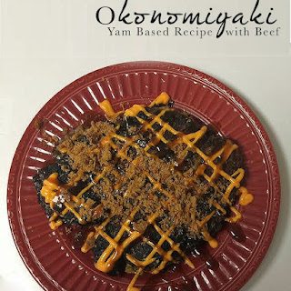 Okonomiyaki (Japanese Pancakes) No Pork Recipe