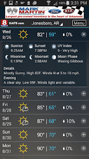 KAIT Region 8 Weather- screenshot thumbnail