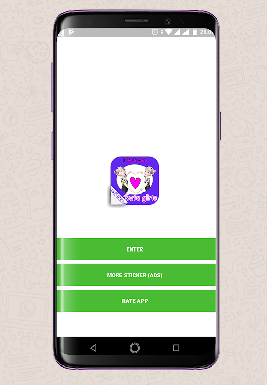 Stiker Cewe Cute Lucu Wastickerapps Android Apps Appagg