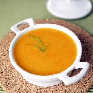 Blended Vegetable Soup.