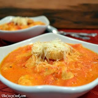 Chicken Parmesan Soup.