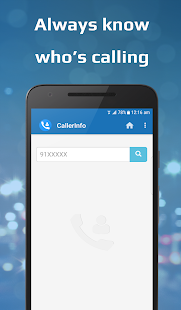 CallerInfo: Caller ID - náhled