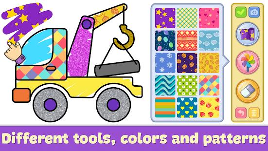 Раскраски для детей и игры для малышей бесплатно мод