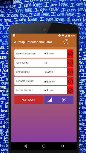 Wiretap Detection Pro  : anti Phone tap simulated 1.0.1 screenshots 2