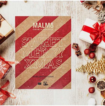 Adventskalender / nötfri chokladkalender 2021 - Malmö Chokladfabrik