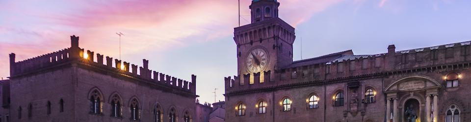 Clock tower of Bologna