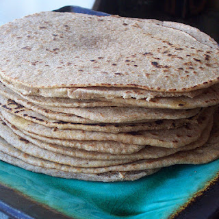 Whole Wheat Sourdough Tortillas Recipe