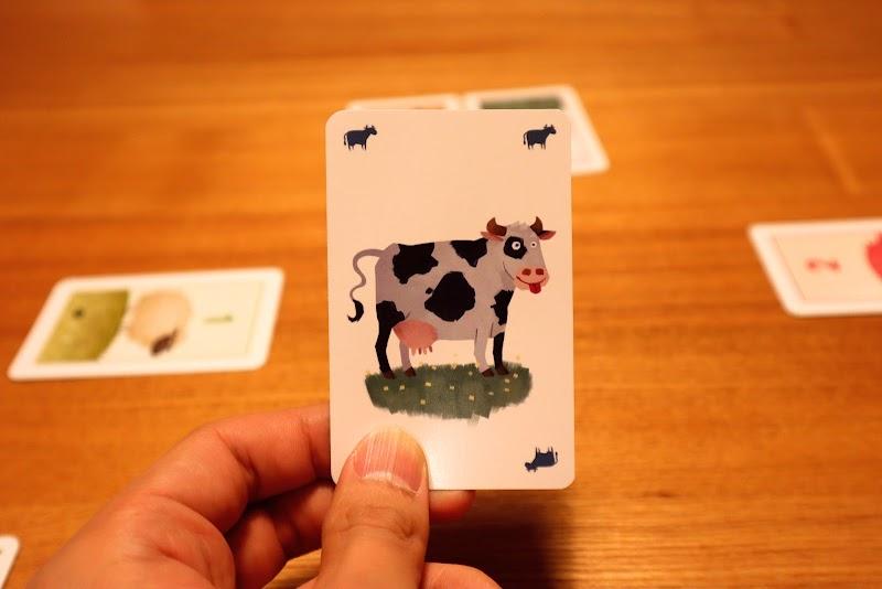 ウシ:【ボードゲームレビュー】おろかな牛/愚かな牛